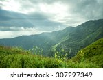 unset in the mountains... | Shutterstock . vector #307297349