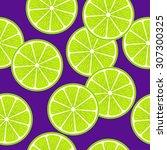 vector seamless bright pattern... | Shutterstock .eps vector #307300325