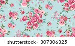 seamless classic floral pattern ... | Shutterstock .eps vector #307306325