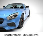 Sports Car Front View. The...