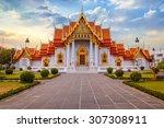 the marble temple  wat... | Shutterstock . vector #307308911