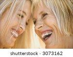 portrait of caucasian mother... | Shutterstock . vector #3073162