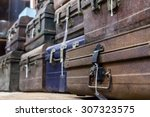 Storehouse Of Old Suitcases....