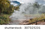 Small photo of Pong Duad geyser, Huay-nam-dung national park, Chiangmai, Thailand