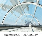 The Glass Tunnel And Aircraft.