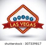 casino game design  vector... | Shutterstock .eps vector #307339817