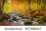 Landscape Mountain River In...