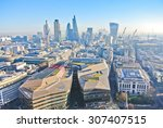 view of london city center from ... | Shutterstock . vector #307407515