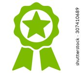 award icon. vector style is... | Shutterstock .eps vector #307410689