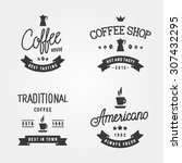set of vintage labels  logo... | Shutterstock .eps vector #307432295