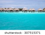 panoramic view to paradise...   Shutterstock . vector #307515371