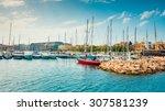 Yachts On Pier Of Ta Xbiex Nea...