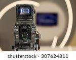 studio camera | Shutterstock . vector #307624811