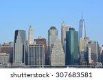 Lower Manhattan Skyline.
