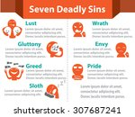 infographic seven deadly sins ...