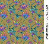 Seamless Vector Paisley Patter...