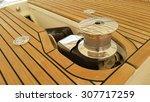 Windlass Of Yacht