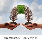 build a business as a... | Shutterstock . vector #307724441