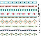 seamless pattern. vector...   Shutterstock .eps vector #307757825
