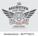 logo graphic design. logo ...   Shutterstock .eps vector #307773671