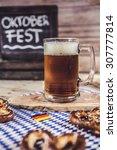 oktoberfest  craft beer    Shutterstock . vector #307777814