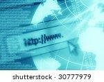 global communication... | Shutterstock . vector #30777979