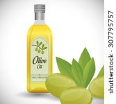 olive oil digital design ... | Shutterstock .eps vector #307795757