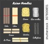Asian Noodles. Soba  Udon ...