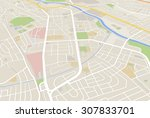 map | Shutterstock . vector #307833701