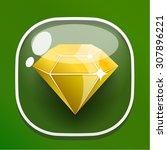 glass button diamond for game...