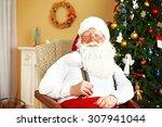Santa Claus Sitting In...