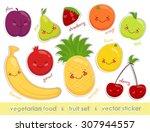 vector image of labels of... | Shutterstock .eps vector #307944557