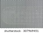metal silver background with... | Shutterstock . vector #307969451