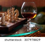 Chess Board And Chess Pieces  ...