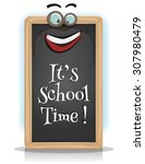 it's school time  illustration...
