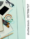 blank vintage frames | Shutterstock . vector #307986737