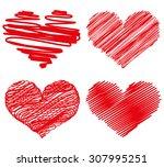 heart | Shutterstock .eps vector #307995251