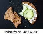 Single Broken Rye Crispbread...