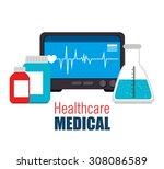 medical healthcare design ...   Shutterstock .eps vector #308086589
