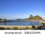 Botafogo Beach And Cove With...