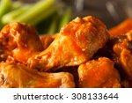 Spicy Homemade Buffalo Wings...