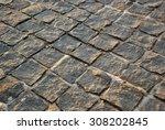 stone path texture. background... | Shutterstock . vector #308202845