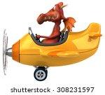 fun dragon | Shutterstock . vector #308231597