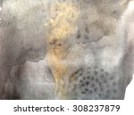 black and gold abstract... | Shutterstock . vector #308237879