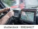 no face unrecognizable person... | Shutterstock . vector #308264627