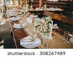 decorations made of wood and... | Shutterstock . vector #308267489