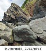 Rock Falls   Cliff  Woody Bay ...