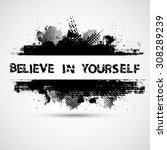 creative vector inspirational... | Shutterstock .eps vector #308289239