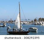 newport beach  ca august  2015  ...   Shutterstock . vector #308292395