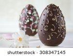 Chocolate Eastern Egg Cake